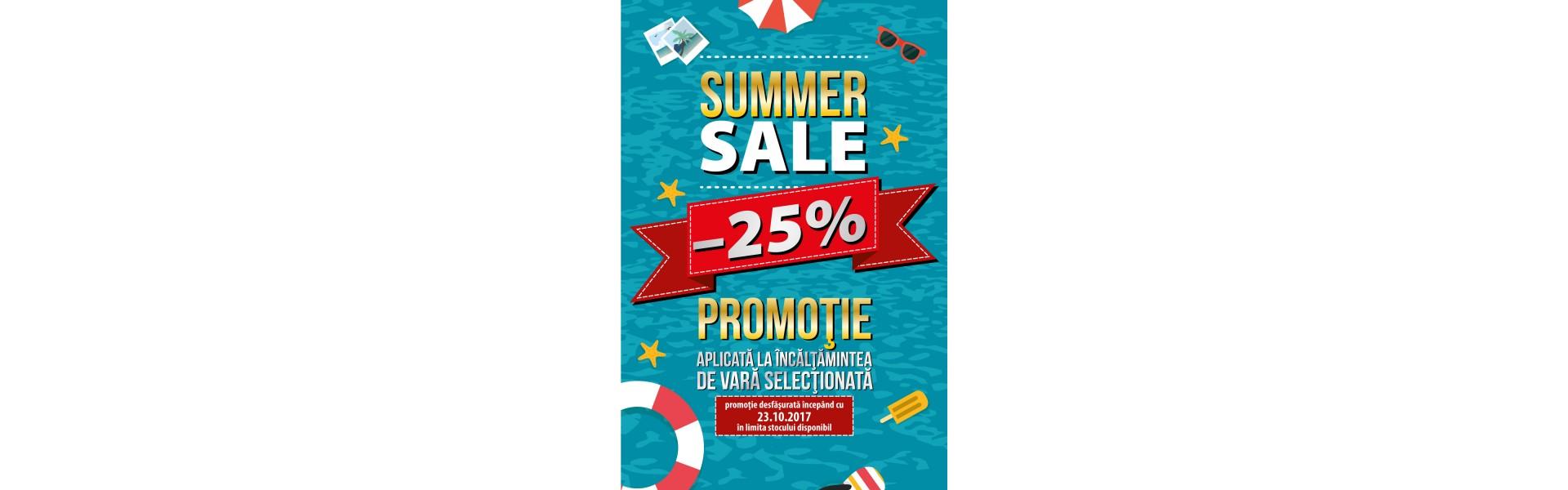 Summer Sale -25%